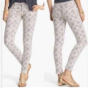 Vigoss skinny print joggers women's jeans